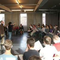 Bilder-Galerie vom ersten Chor@Berlin-Tag