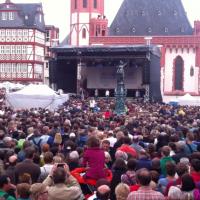 """Die Wise Guys singen """"Lauter"""" auf dem Römerberg"""