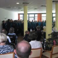 Chorfest vor Ort: Konzert im Pflegeheim