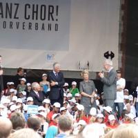 Frankfurt ist jetzt vier Tage ganz Chor
