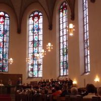 Gottesdienste am letzten Chorfesttag in St. Katharinen und Sankt Peter