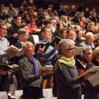 Mitsingkonzert und eine Uraufführung als stimmungsvoller Schlusspunkt von Chor@Berlin 2013