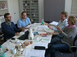 Kompositionswettbewerb / Jurysitzung