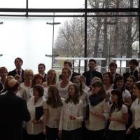 Chor des Sandberg-Gymnasiums Willkau-Haßlau und Hochschulchor der Westsächsischen Hochschule Zwickau,  Ltg. Ulf Firke