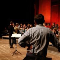 Impressionen von der Offenen Probe des Rundfunkchors Berlin mit Peter Sellars