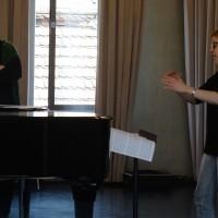 Mut zum eigenen Stil! Schnupperkurs mit Jörg-Peter Weigle für Weiterbildungsmaster Chordirigieren