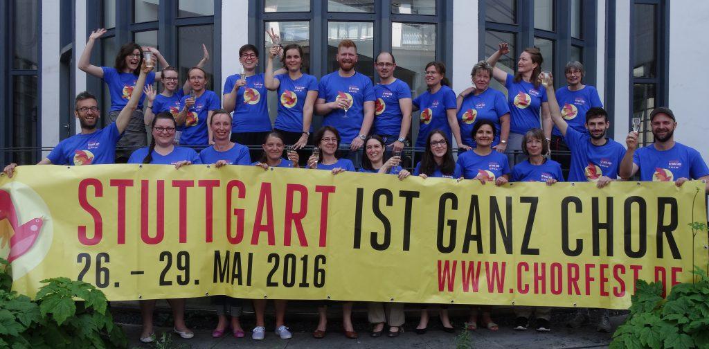 Chorfest-Team und KollegInnen