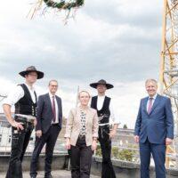 Deutsches Chorzentrum feiert Richtfest