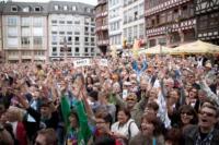 Chorfest-Teilnehmer singen und spenden kräftig für den guten Zweck